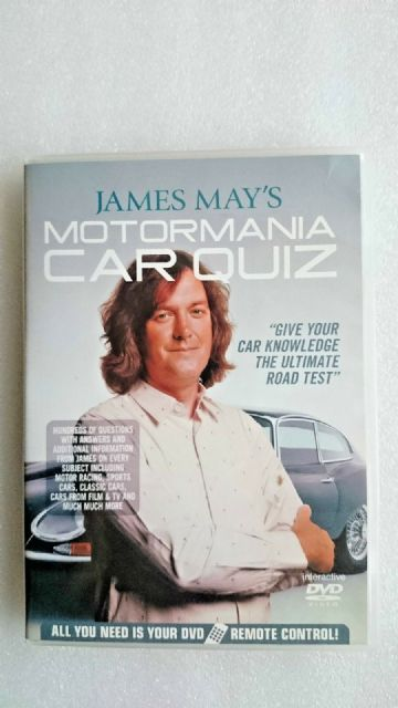 James May's Motormania Car Quiz (DVD, 2006)